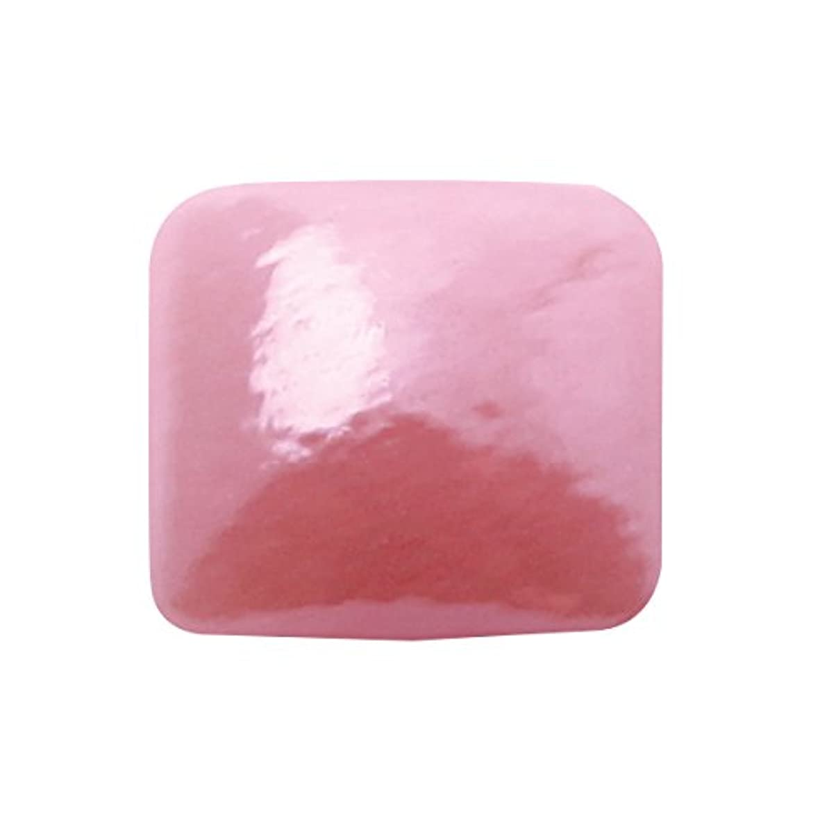 グラスパールスクエア 4x4mm(各30個) ピンク
