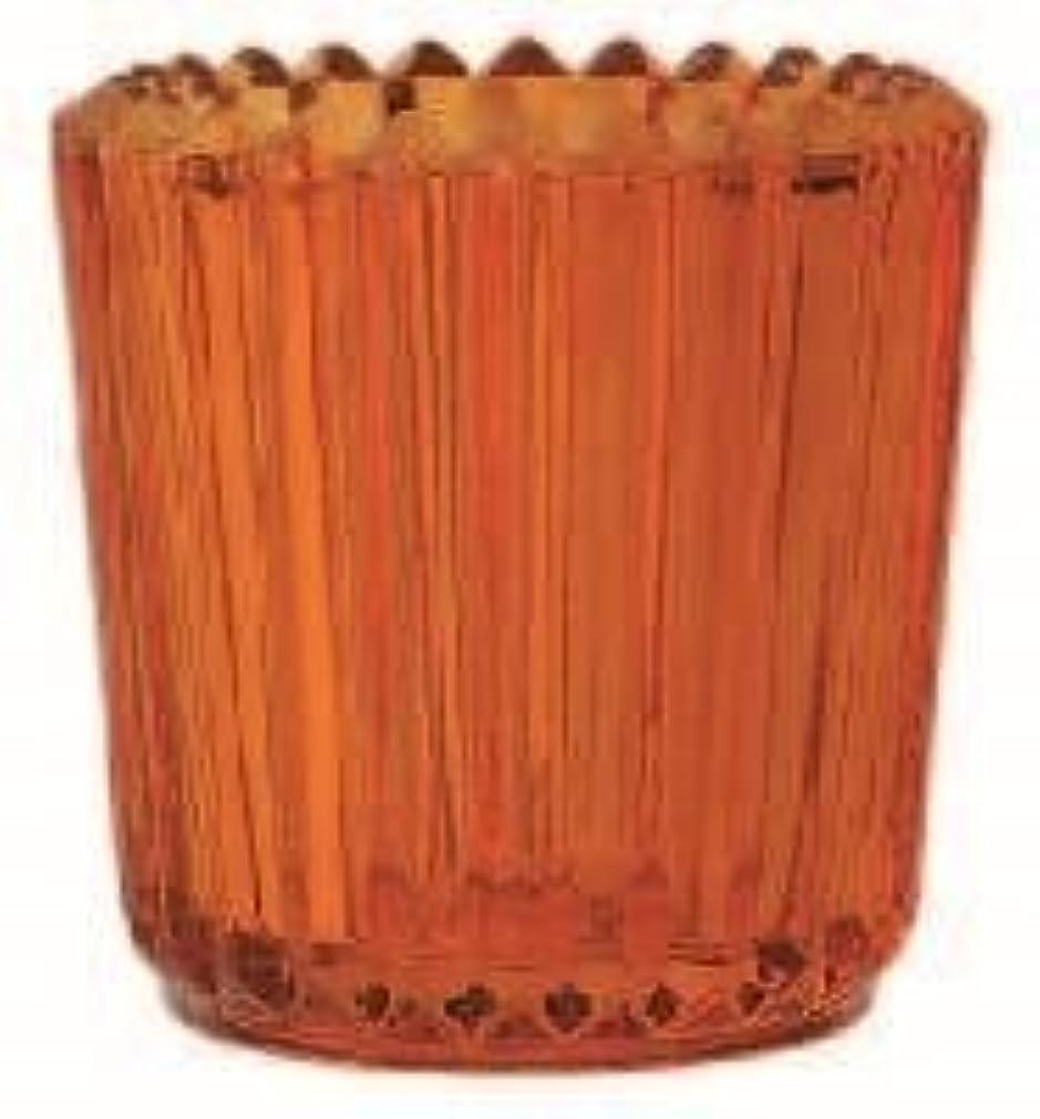 側面フラスコ自治kameyama candle(カメヤマキャンドル) ソレイユ 「 オレンジ 」(J5120000OR)