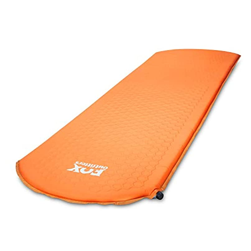 葉を拾うジムサージFox Outfitters Lightweight Series Self Inflating Camp Pad - Perfect Foam Sleeping Pads for Camping, Backpacking, Hiking, Hammocks, Tents (Long) [並行輸入品]