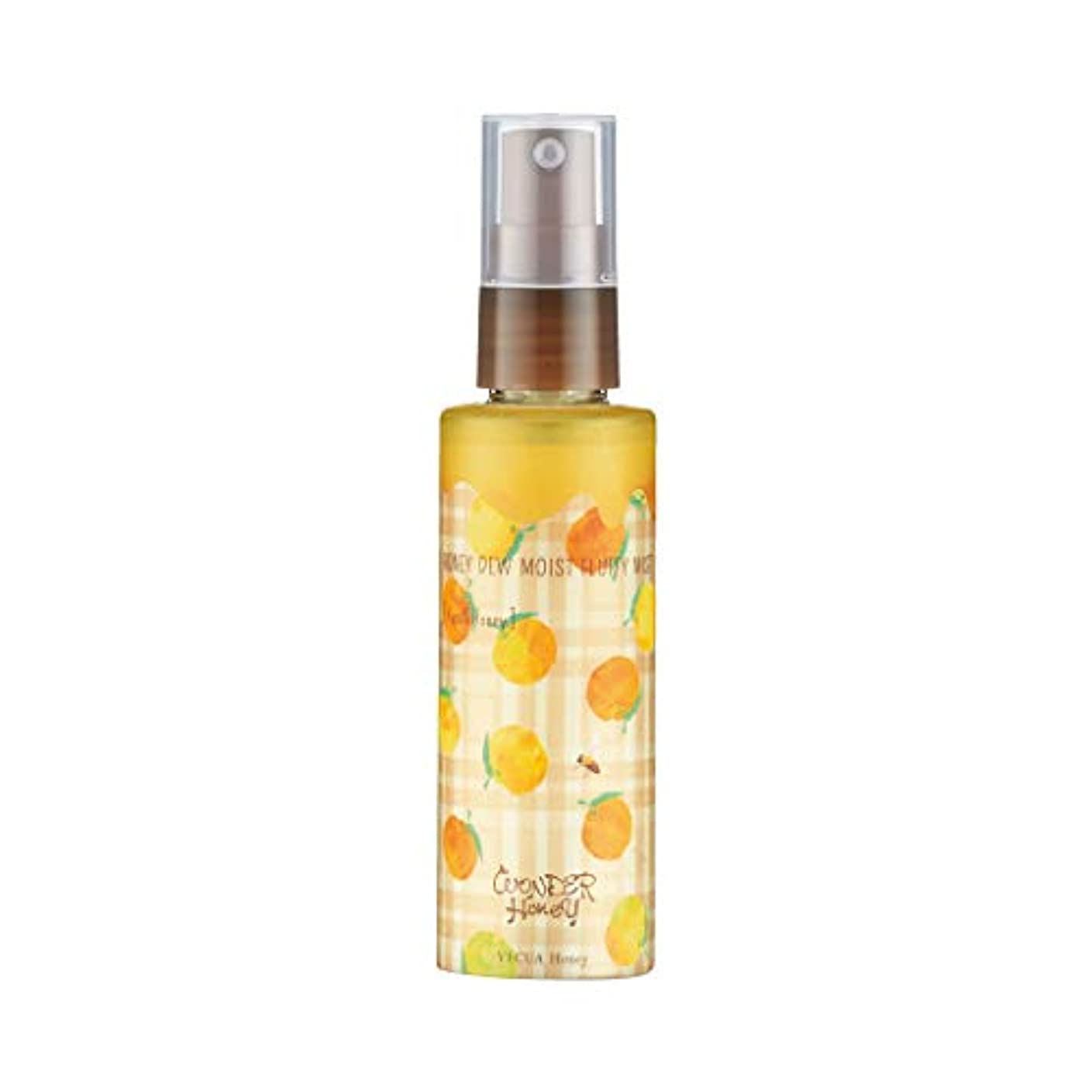 病気にもかかわらず調和のとれたベキュア ハニー(VECUA Honey) ワンダーハニー やさしく潤うふわふわミスト 柚子はちみつ 80ml