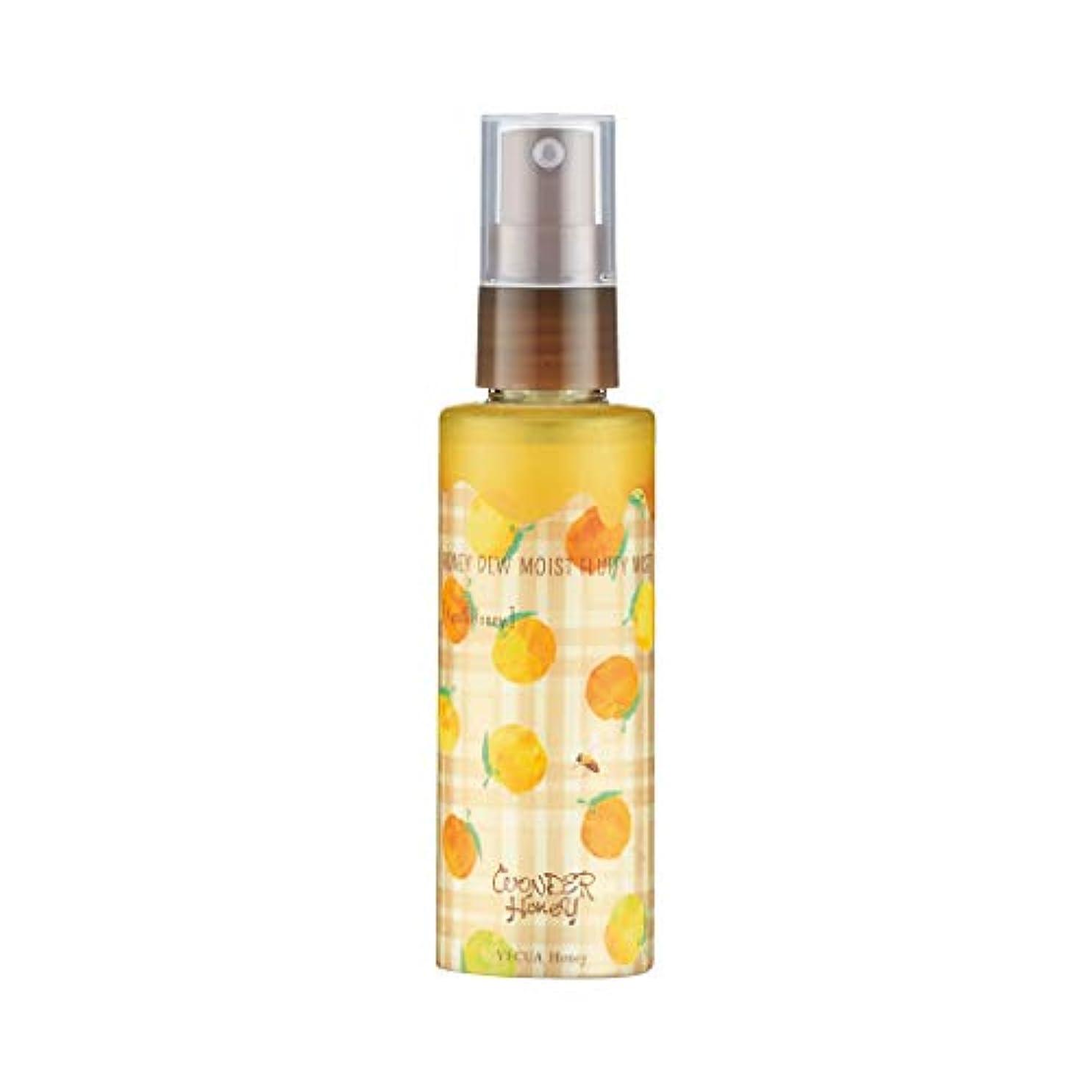 不十分オプション改善ベキュア ハニー(VECUA Honey) ワンダーハニー やさしく潤うふわふわミスト 柚子はちみつ 80ml