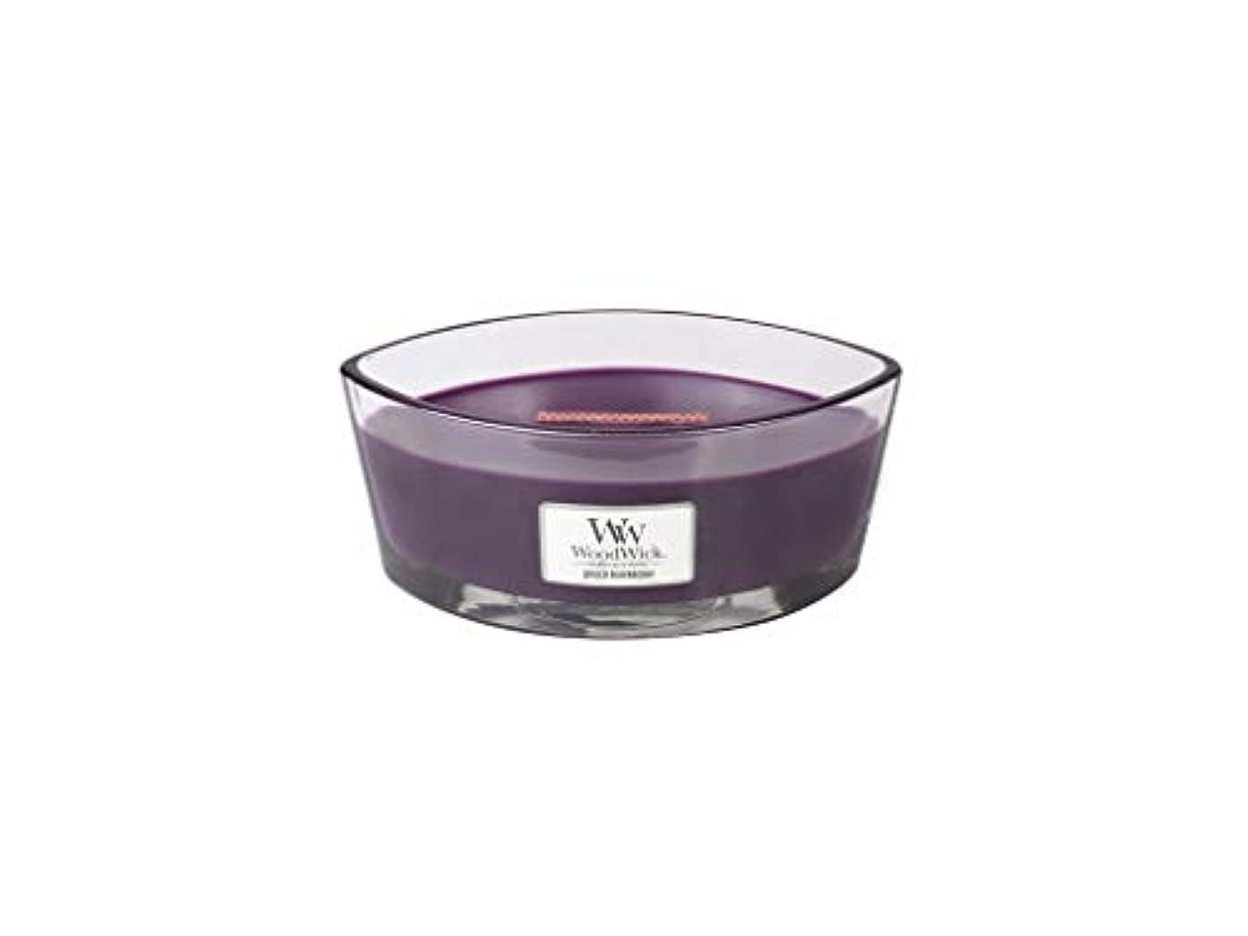 階狼司書Spiced Blackberry – WoodWick 10oz Medium Jar Candle Burns 100時間