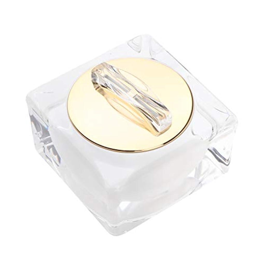 記念品グローバル麻痺血清/ローション/泥マスクのための卸し売り空のアクリルのクリーム色の化粧品の容器 - 30g