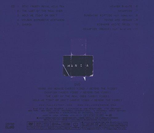 マ ニ  ア(デラックス・エディション)(初回限定盤)(DVD付)