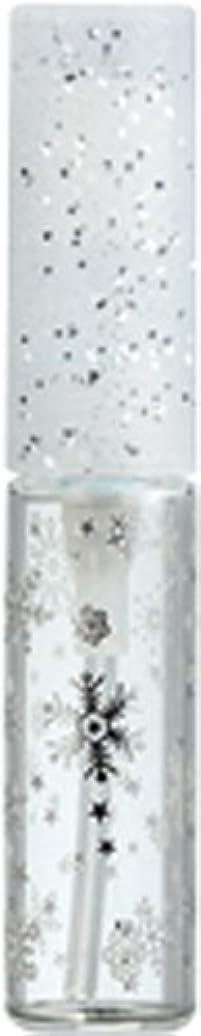 ケープ広範囲に食品50271 【ヤマダアトマイザー】 グラスアトマイザー プラスチックポンプ 柄 スノー