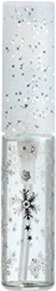シャッフル想定美徳50271 【ヤマダアトマイザー】 グラスアトマイザー プラスチックポンプ 柄 スノー