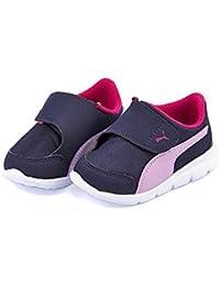 [プーマ] PUMA 女の子 男の子 キッズ ベビー 子供靴 運動靴 通学靴 ベビーシューズ スニーカー バオ 3 AC インファント 軽量 クッション性 屈曲性 BAO 3 AC INFANT 190943