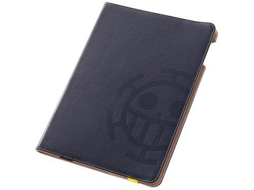 レイ・アウト iPad Air用 ワンピース・レザー/トラファルガー・ロー海賊旗 RTOPA5A/TL