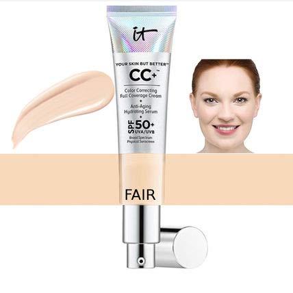 it cosmetics (イット コスメティクス)CCクリーム Your Skin But Better CC+ Cream SPF 50+ (カラー:フェアー)全米1位人気No,1【並行輸入・正規品】ピア使用説明書付き