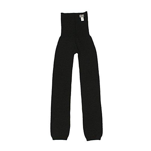 くらしきぬ ロングはらぱん 内絹外ウール腹巻パンツ 【日本製】(ブラック)