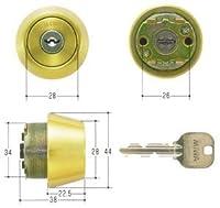 MIWA(美和ロック) U9シリンダー LSPタイプ TE22 鍵 交換 取替え MCY-151 LSP/SWLSPゴールド色(BS)33~42mm