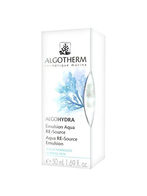 [アルゴテルム] アルゴイドラ エミュルシオン アクア ルスルス50ml [ALGOTHERM] ALGOHYDRA EMULSION AQUA RE-SOURCE 50ml海外直送品