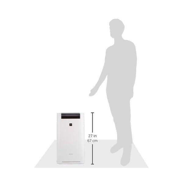シャープ 加湿 空気清浄機 プラズマクラスタ...の紹介画像10