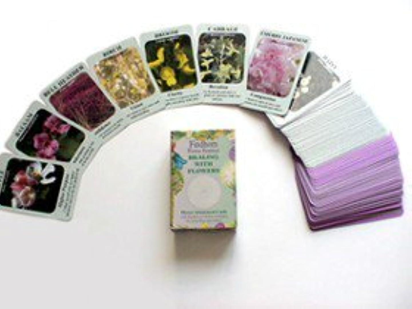 脈拍まどろみのある瞑想するフィンドホーン フラワーエッセンス フラワーアチューンメントカード