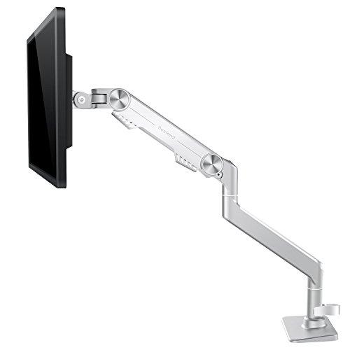 Bestand モニターアーム 液晶ディスプレイアーム 高さ調節可能 ホワイト