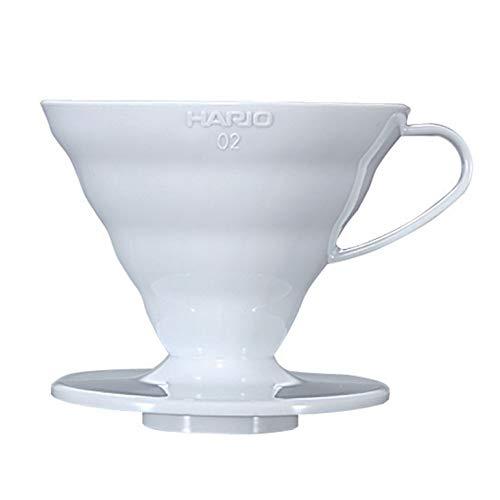 (ハリオ) V60 02 透過 コーヒードリッパー ホワイト コーヒードリップ 1~4杯用 VD-02W