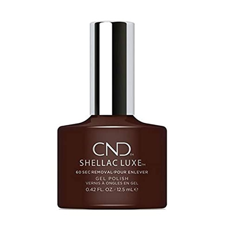 深めるヒゲ敵意CND Shellac Luxe - Dark Dahlia - 12.5 ml / 0.42 oz