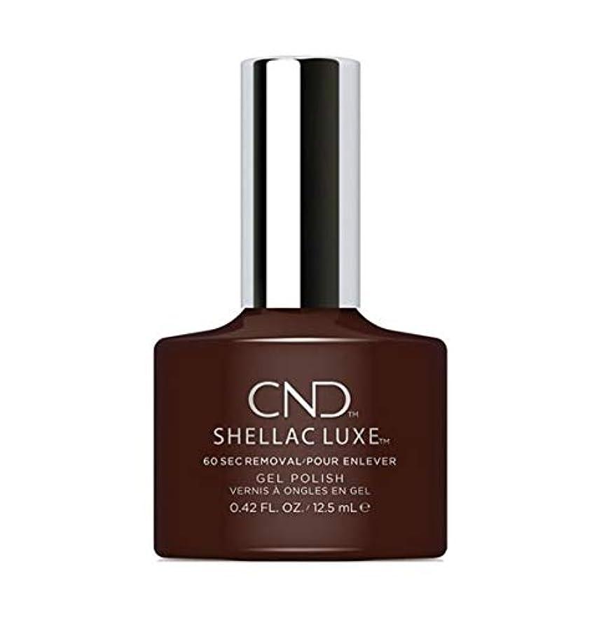 海外で倫理氏CND Shellac Luxe - Dark Dahlia - 12.5 ml / 0.42 oz