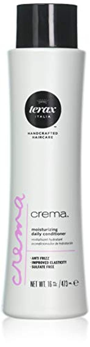 Terax Original Crema Ultra Moisturizing Daily Conditioner ( For All Hair Types ) - 500Ml/16.9Oz by Terax