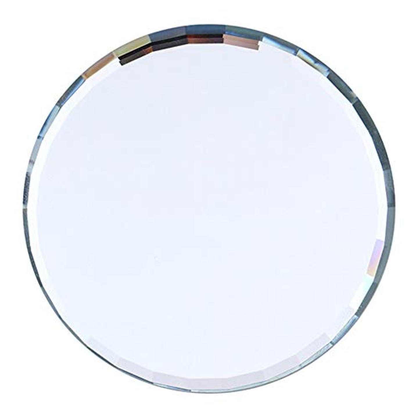 slQinjiansavネイルアート&ツールディスプレイホルダーミラーガラスカラーパレット偽ネイルヒントディスプレイボード練習棚を示す - 青