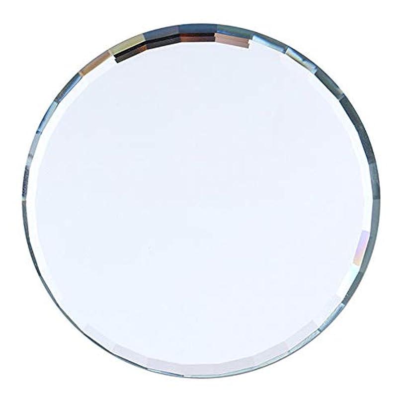 半球中古センチメートルslQinjiansavネイルアート&ツールディスプレイホルダーミラーガラスカラーパレット偽ネイルヒントディスプレイボード練習棚を示す - 青