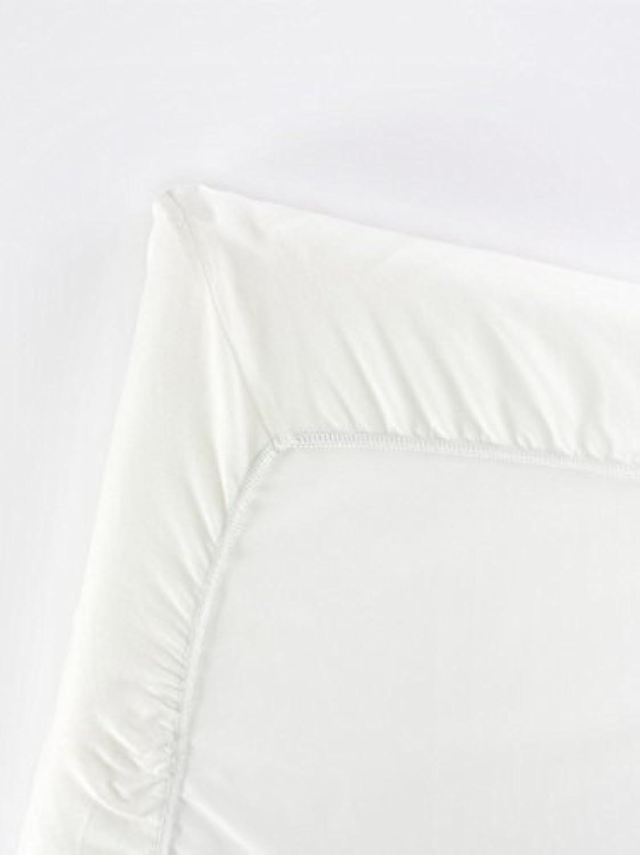 BABYBJORN Travel Crib Light Fitted Sheet, Natural White [並行輸入品]