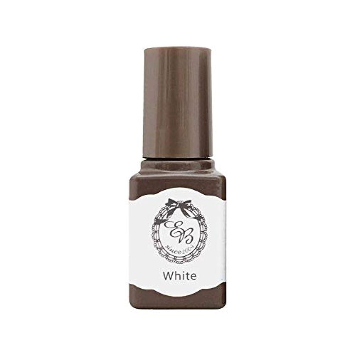 もしバング汚物エターナル EB ボトルジェルカラー tuya-03 ホワイト6mL