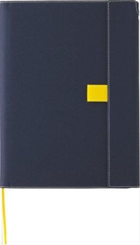 キングジム ノートカバー マグネットタイプ B5S 1801 ネイビー
