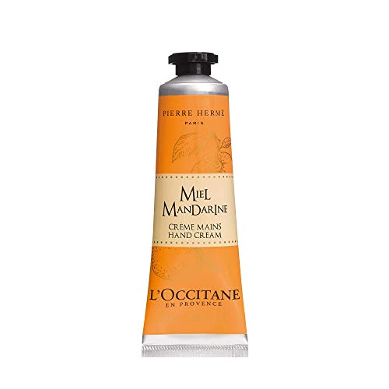 真夜中ドラッグ骨髄ロクシタン(L'OCCITANE) ミエルマンダリン ハンドクリーム 30ml ハートウオーミングオレンジハニー