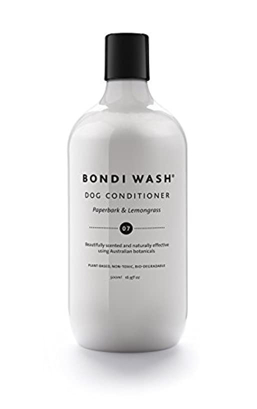 悪化させる安全骨折BONDI WASH ドッグコンディショナー ペイパーバーク&レモングラス 500ml
