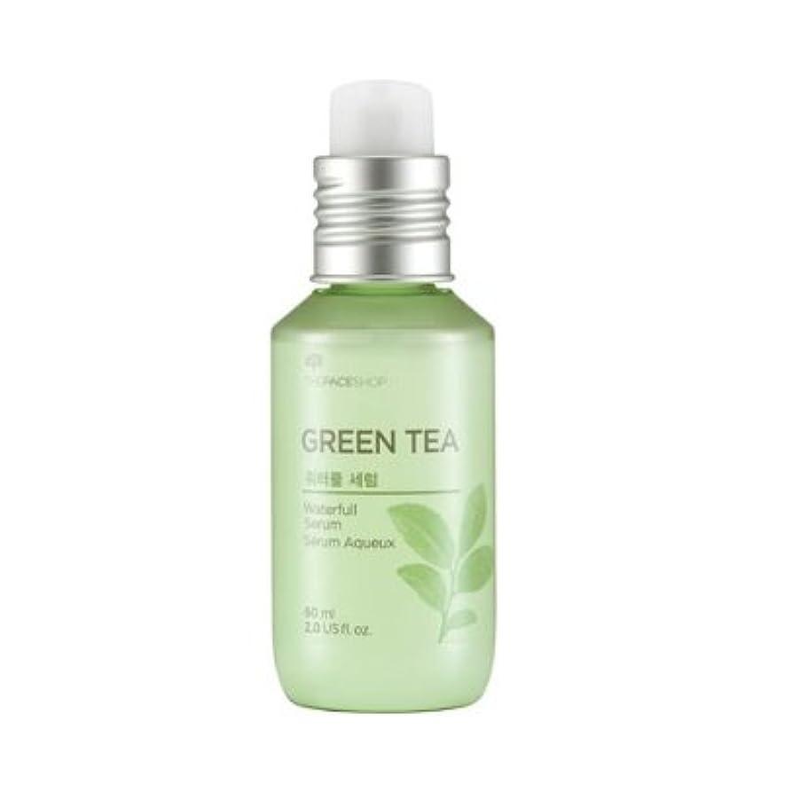 不透明な公平ソビエトThe Face Shop Green Tea Water Full Serum 60ml / ザ?フェイスショップ グリーンティーウォーターフルセラム 60ml [並行輸入品]