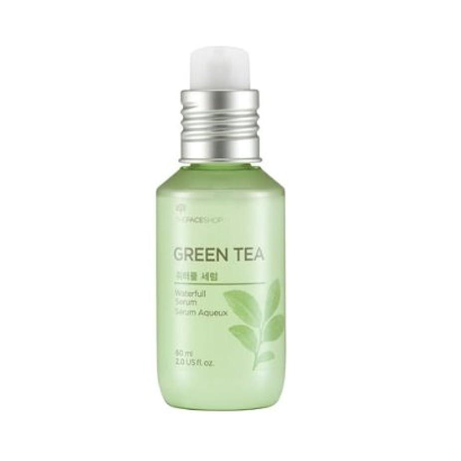 The Face Shop Green Tea Water Full Serum 60ml / ザ?フェイスショップ グリーンティーウォーターフルセラム 60ml [並行輸入品]