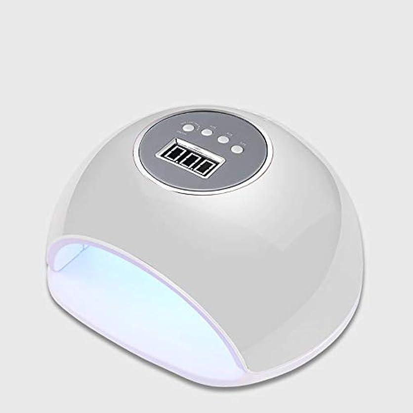 君主つづり苦しめる釘ドライヤー - 自動赤外線センサー、二重光源のLEDランプのゲルのドライヤーのマニキュアが付いている紫外線携帯用LEDの釘ランプ