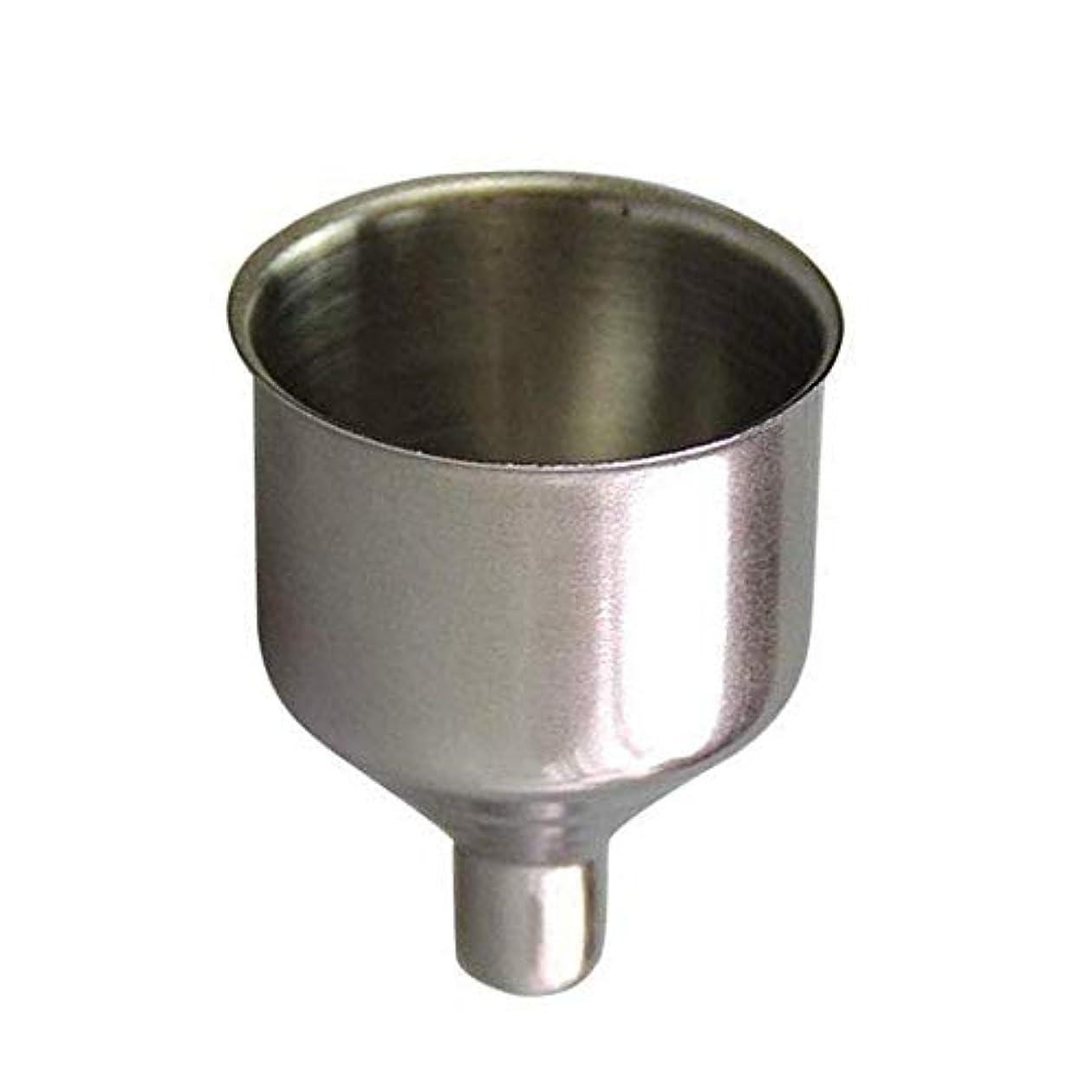 イソギンチャク再現する持ってる漏斗のこし器 じょうごおよび種を取除くため 液体 香水 精油 ステンレス鋼の漏斗