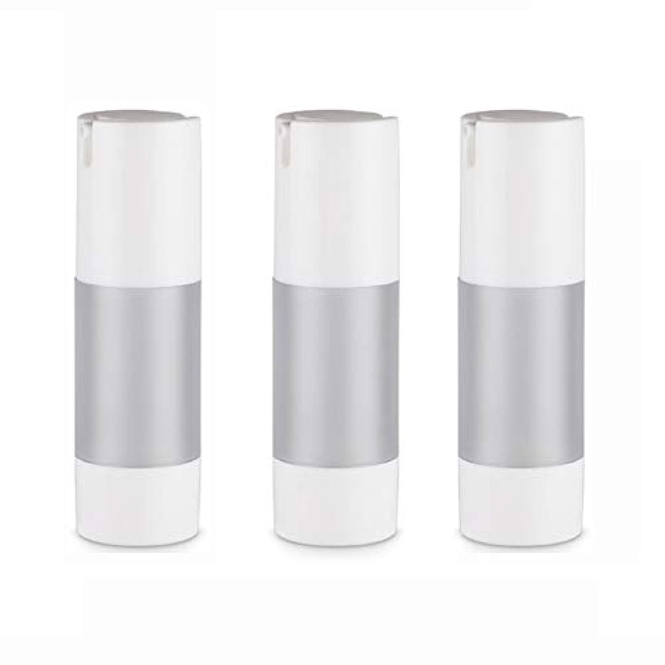 肥料メニュー宇宙の小分けボトル 乳液 3本セット ディスペンサー ボトル シャンプー ボディーソープ ポンプボトル 真空 ボトル 詰替用ボトル 旅行用 (乳液30ml)