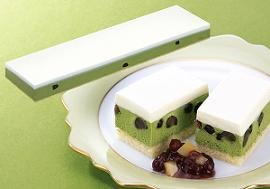 味の素)フレック)フリーカットケーキ レアー抹茶 620g