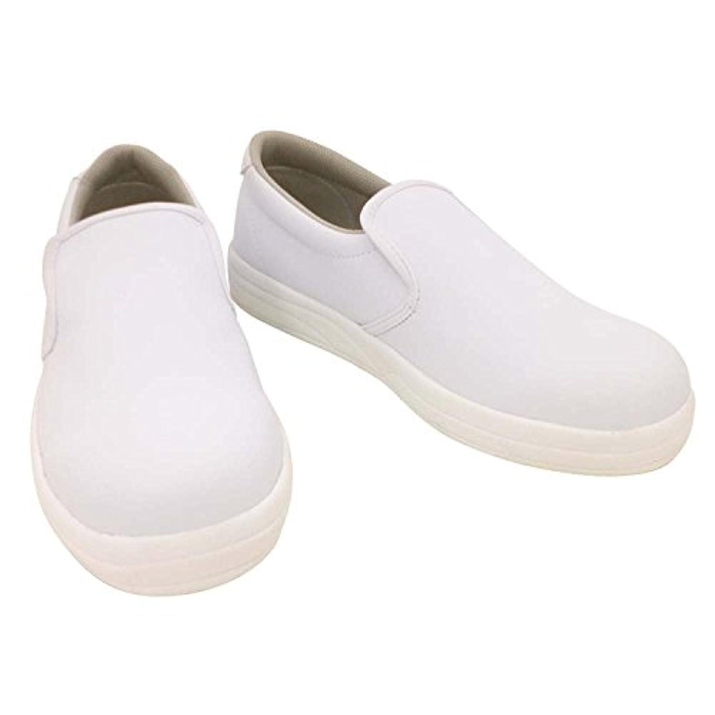 おたふく手袋/J-キッチン/厨房用シューズ/951 サイズ:25.0cm カラー:白