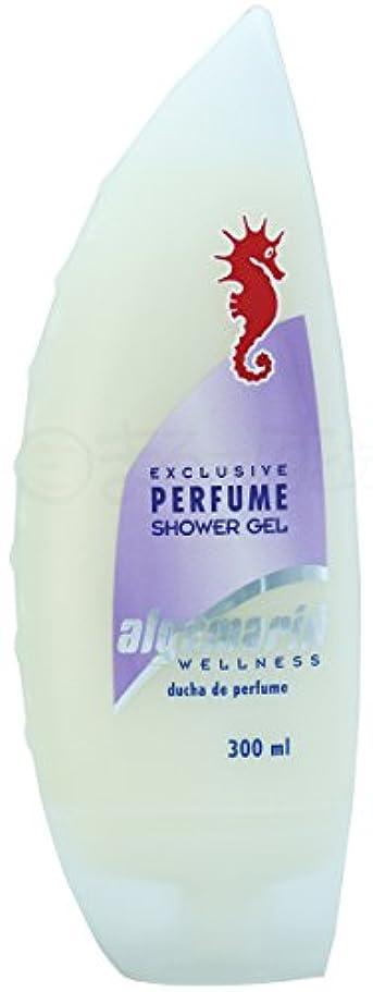 満足できるアラスカフローアルゲマリンボディソープ パフューム香水入り300ml