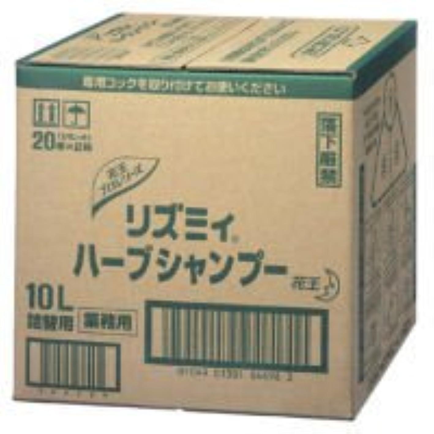 敵意高速道路麺花王 リズミィ ハーブシャンプー 10L 業務用