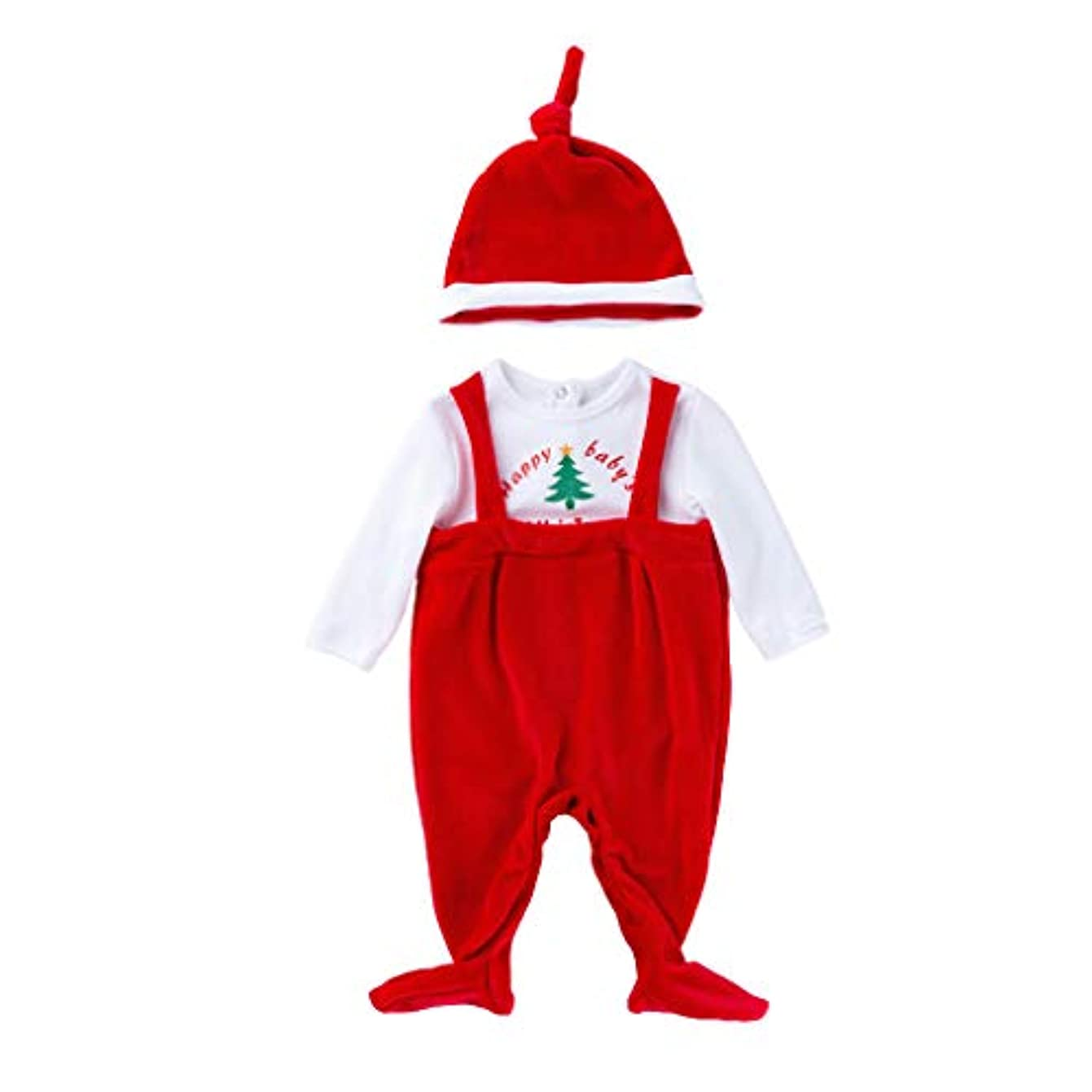 免疫急襲過度のMISFIY クリスマスコスチューム 赤ちゃん ベビー 女の子 男の子 肌着 パジャマ カジュアル かわいい 柔らかい お出かけ 出産祝い こどもの日 三五七 クリスマス プレゼント