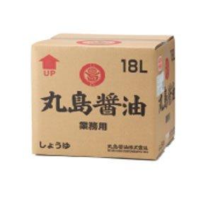 業務用 マルシマ純正醤油(濃口)<18?> 丸島醤油株式会社 (業務用18?<ポリ容器入>)