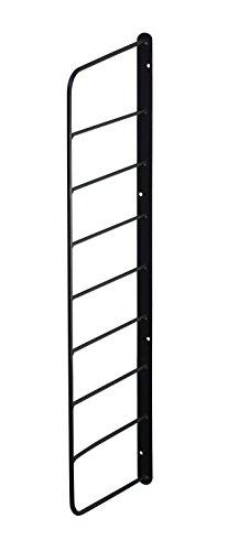 RoomClip商品情報 - Weekend Workshop シェルフフレーム 1本 1×6木材・パイン材用 石膏ボードピンまたはネジで取付 黒 WFK-56