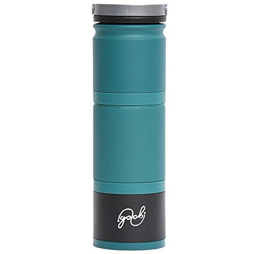 真空断熱4WAYボトル『Golchi(ゴルチ)』/洗いやすいセパレート設計・飲みやすい広い飲み口/マグボトル/保温・保冷/ギフト・プレゼント【正規品】 (Aqua)