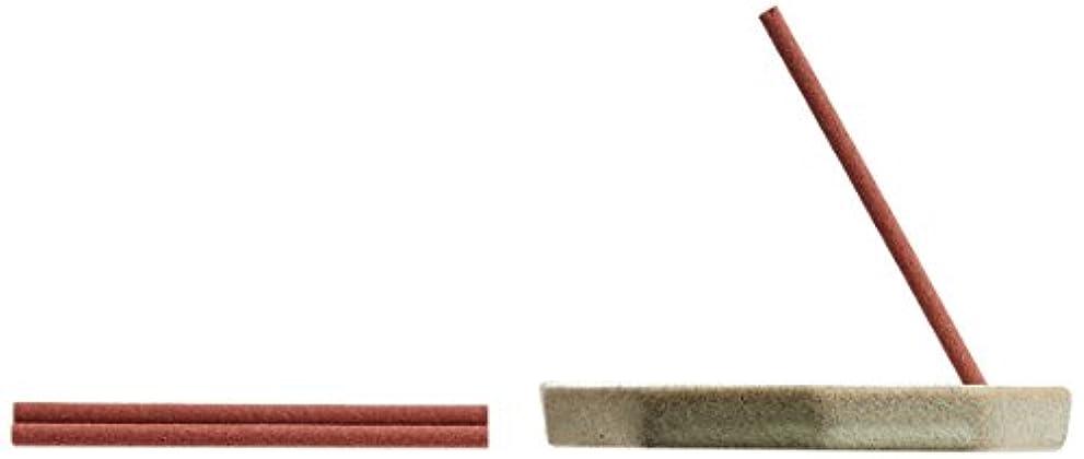 臨検あなたはハーブ野山からのおふくわけ のいちごの薫り スティック6本入&香皿
