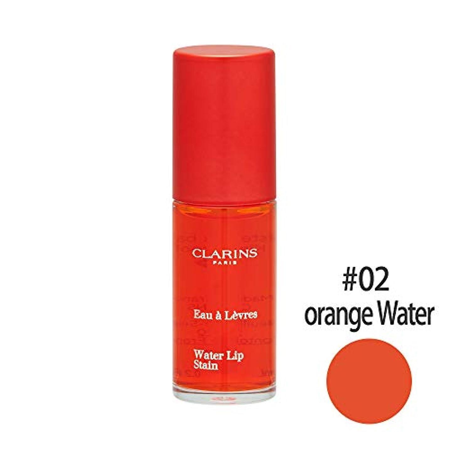 【クラランス】ウォーター リップステイン #02 オレンジウォーター 7ml [並行輸入品]