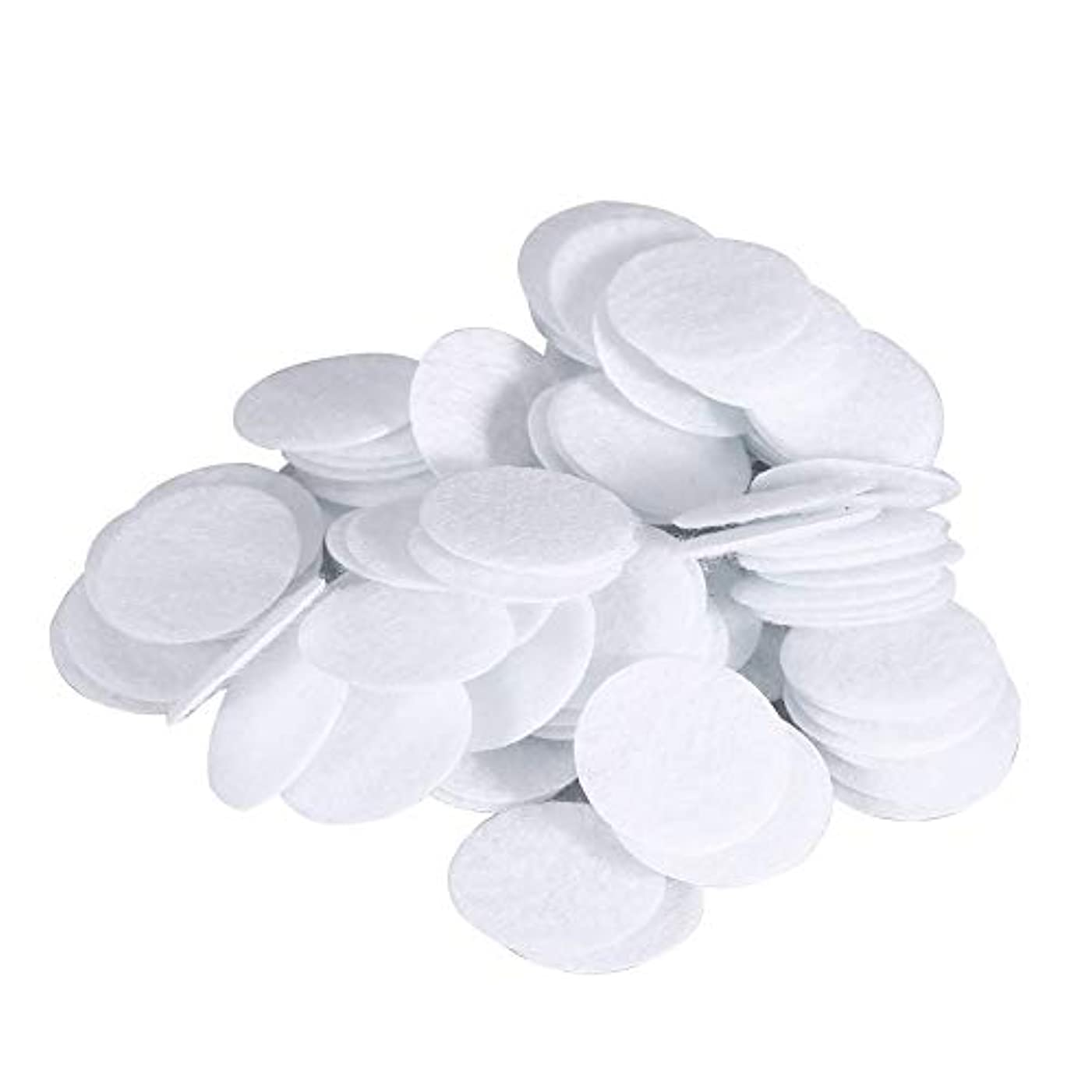 コメンテーターしつけ処理綿フィルターパッド にきび除去美容機用 100個 コットン 20mm