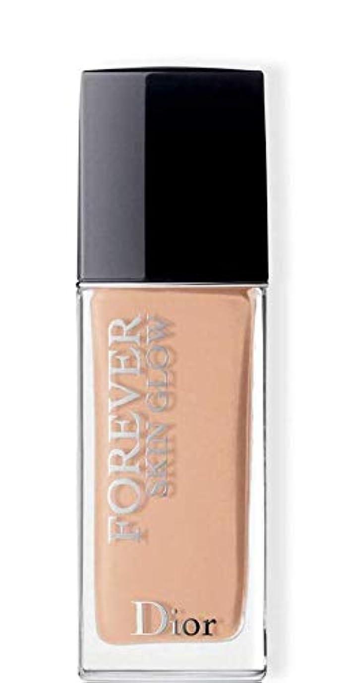証書雪だるま振幅クリスチャンディオール Dior Forever Skin Glow 24H Wear High Perfection Foundation SPF 35 - # 2WP (Warm Peach) 30ml/1oz並行輸入品