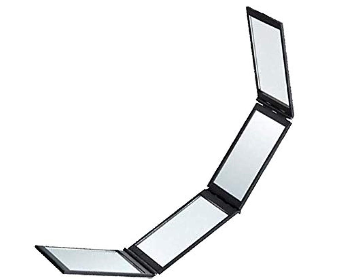 表向きハイランドスパークCQMYGハンドヘルド4面ミラー 携帯四面鏡