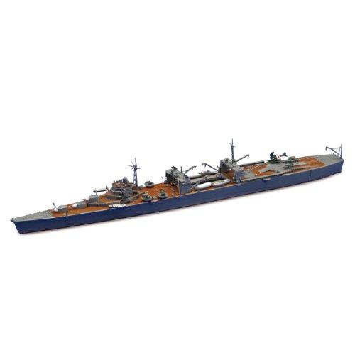青島文化教材社 1/700 ウォーターラインシリーズ 日本海軍 特殊潜航艇搭載母艦 日進 プラモデル 555