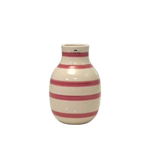 [ケーラー] Kahler オマジオ フラワーベース 花瓶 スモール Omaggio H125 rose 13030 [並行輸入品]